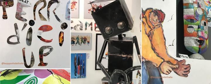 PDT-2018-Galerie Terre d'Ici-Pele mele