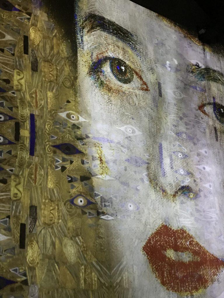 PDT-2018-Gustav Klimt-Atelier des Lumieres-Adele-Visage-Les Papotis de Thalie