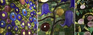 PDT-2018-Gustav Klimt-Atelier des Lumieres-Fleurs-Les Papotis de Thalie