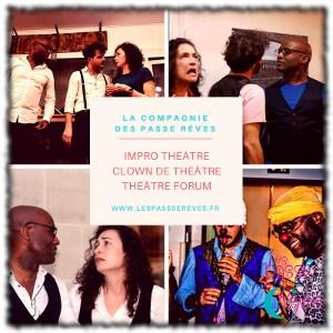 les passe rêves improvisation paris théâtre tours