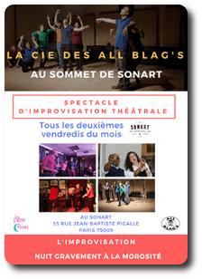 Impro Paris sonart all blag's Passe Rêves