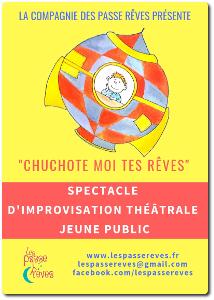 chuchote Spectacle de théâtre pour enfants
