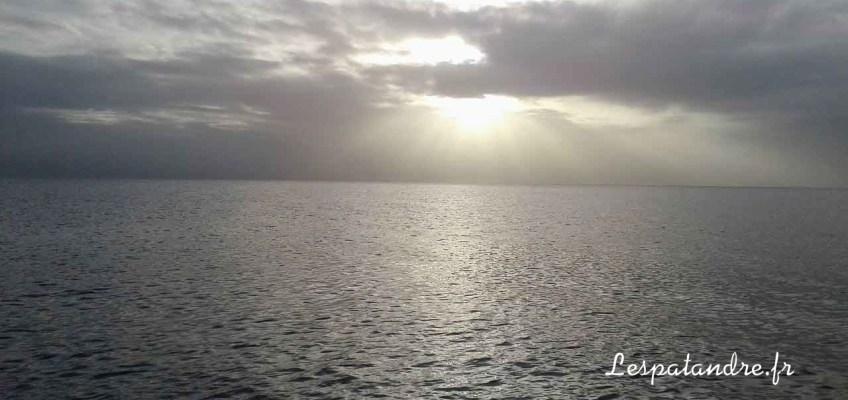 Coucher de soleil sur la Mer des Caraibes