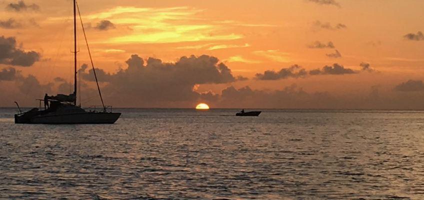 Coucher de soleil de Chatham Bay