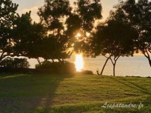 Coucher de soleil St Georges Grenade