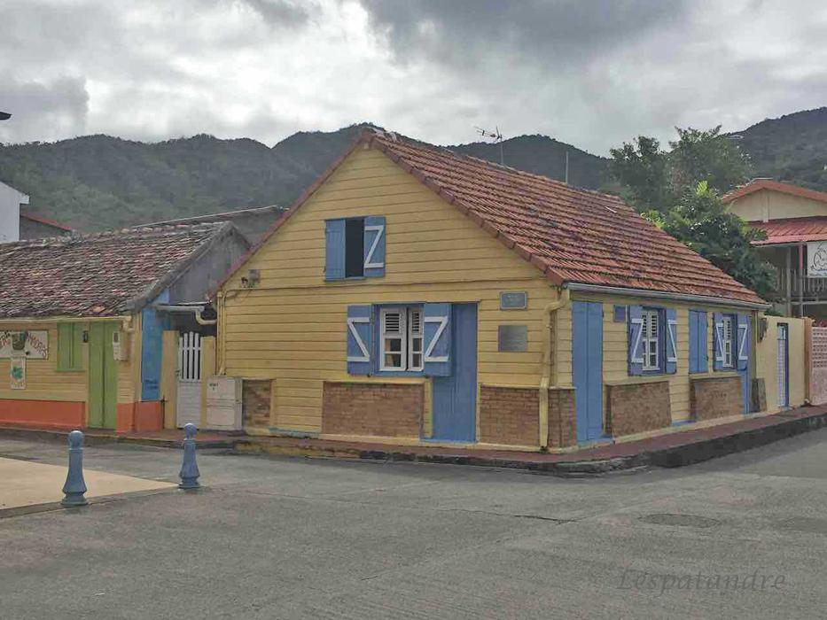 Anse d'Arlet vieille maison