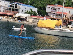 Grande anse d'Arlet - Activités dans la baie