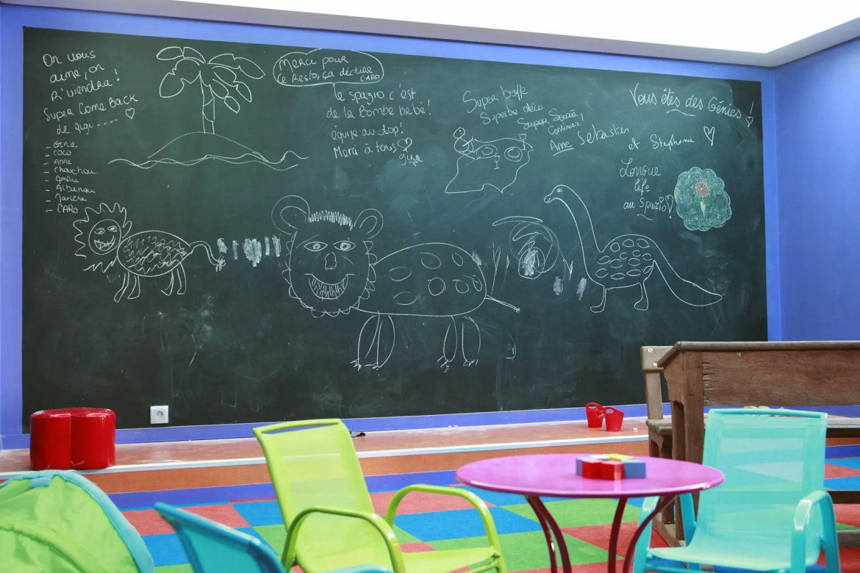 Espace enfants du restaurant pizzeria Le Spazio à Fécamp