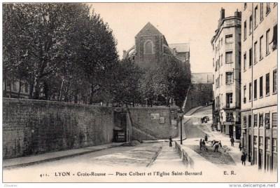 Place Colbert et église Saint Bernard