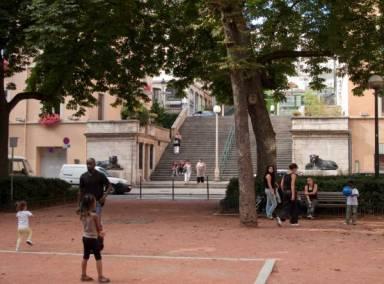 Place Sathonay aujourd'hui