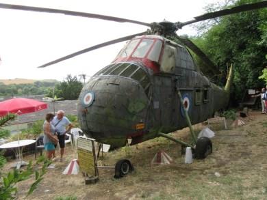 Un hélicoptère Sykorsky
