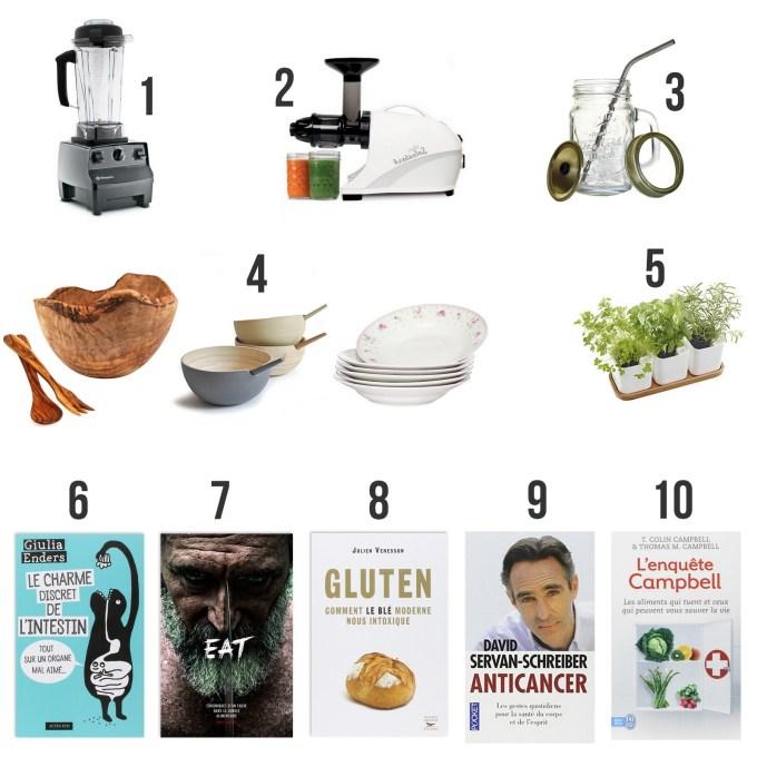 Idées cadeaux alimentation - santé
