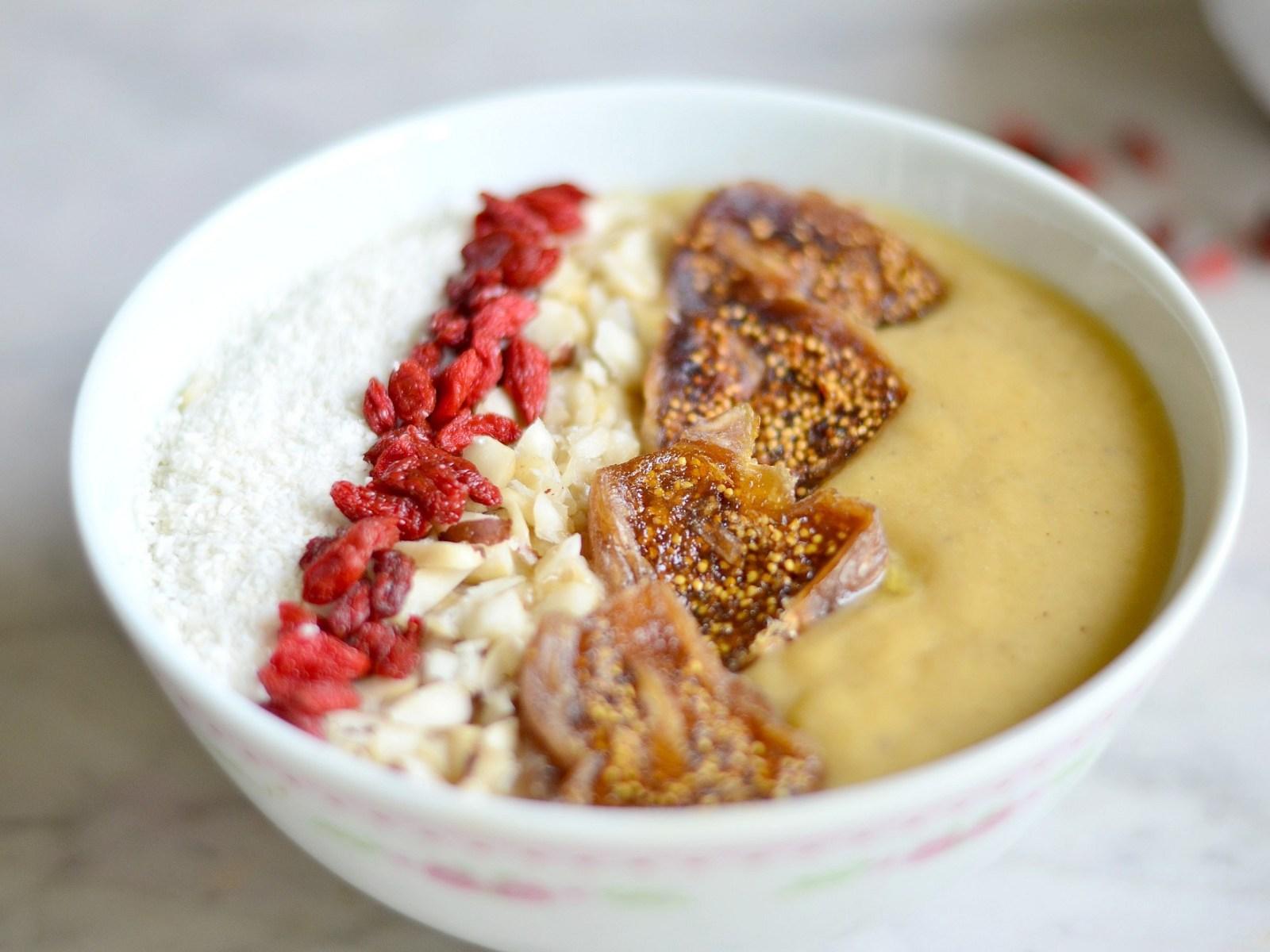 Petit déj' sain & facile – Le smoothie bowl