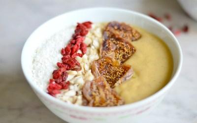 Petit déj' sain & facile – Le smoothie bowl