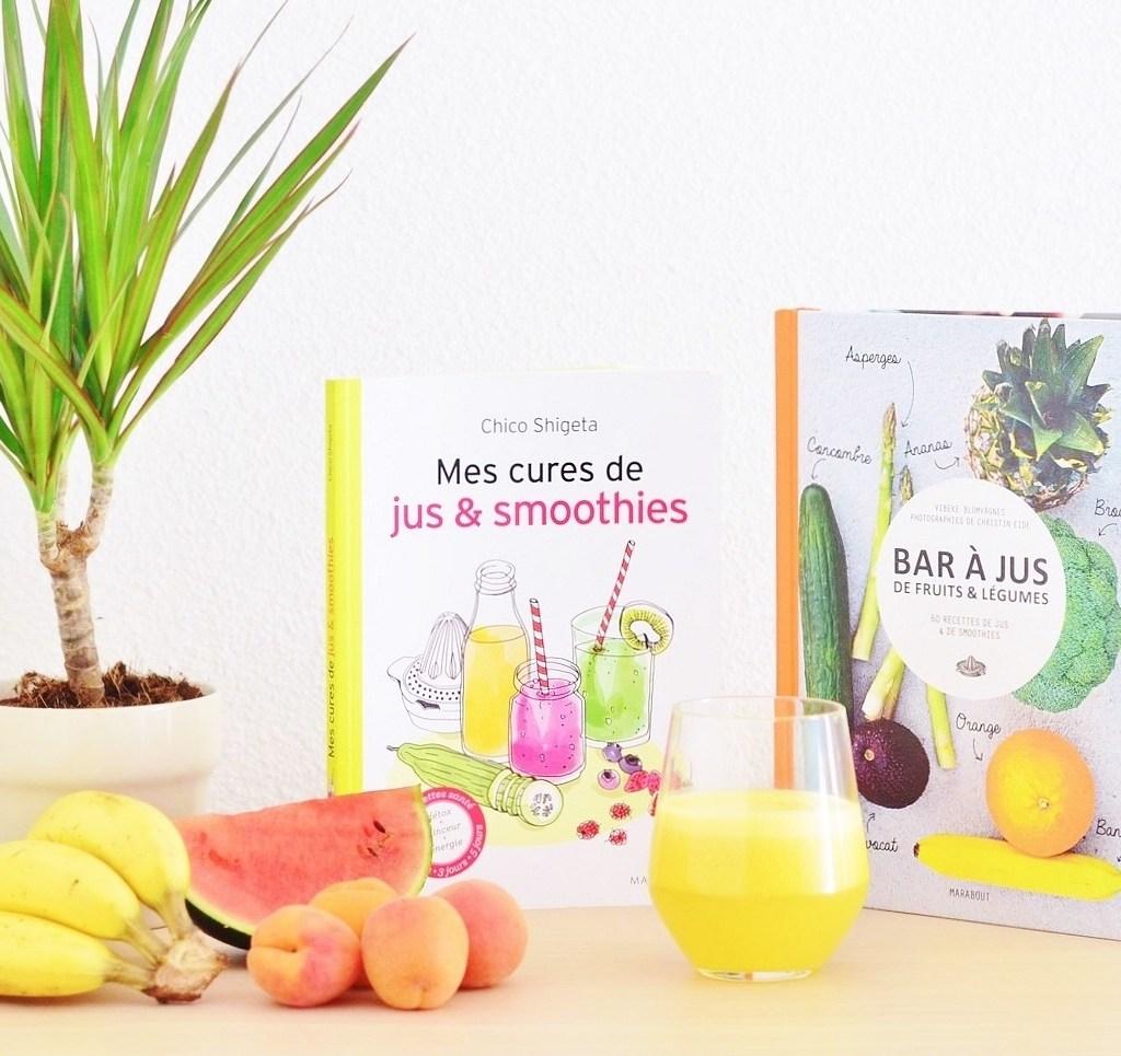 Jus & Smoothies : 2 livres vitaminés !