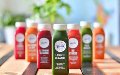 Yumi ! Des jus de légumes bio pressés à froid 🍅🥒🥕