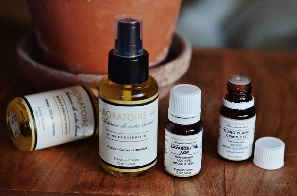 huiles végétales et huiles essentielles 4E