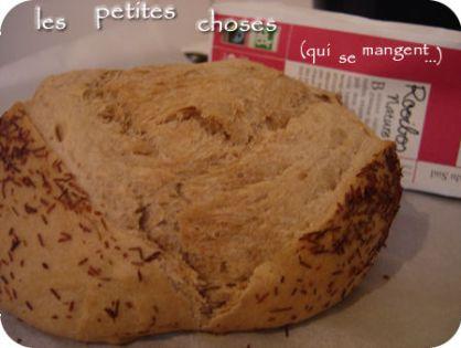 J'adore le rooibos ! Mon pain aussi...