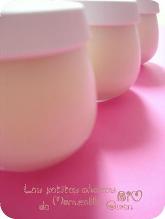 Yaourts au lait de soja