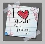 She loves my blog !