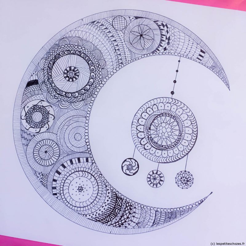 Coloriage Zen Ecole.Zentangle Ou Coloriage Zen A Imprimer