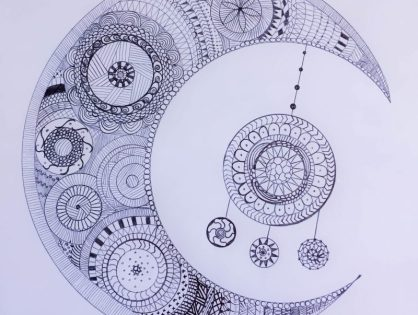 Zentangle (ou coloriage zen) à imprimer