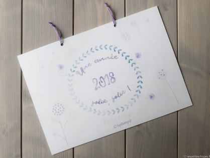 Calendrier familial 2018 (à imprimer)
