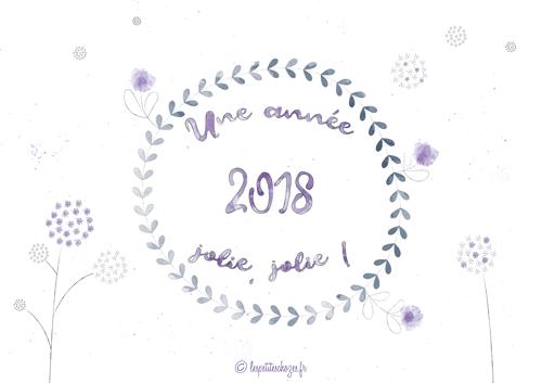 Calendrier familial 2018 - Les petites chozes