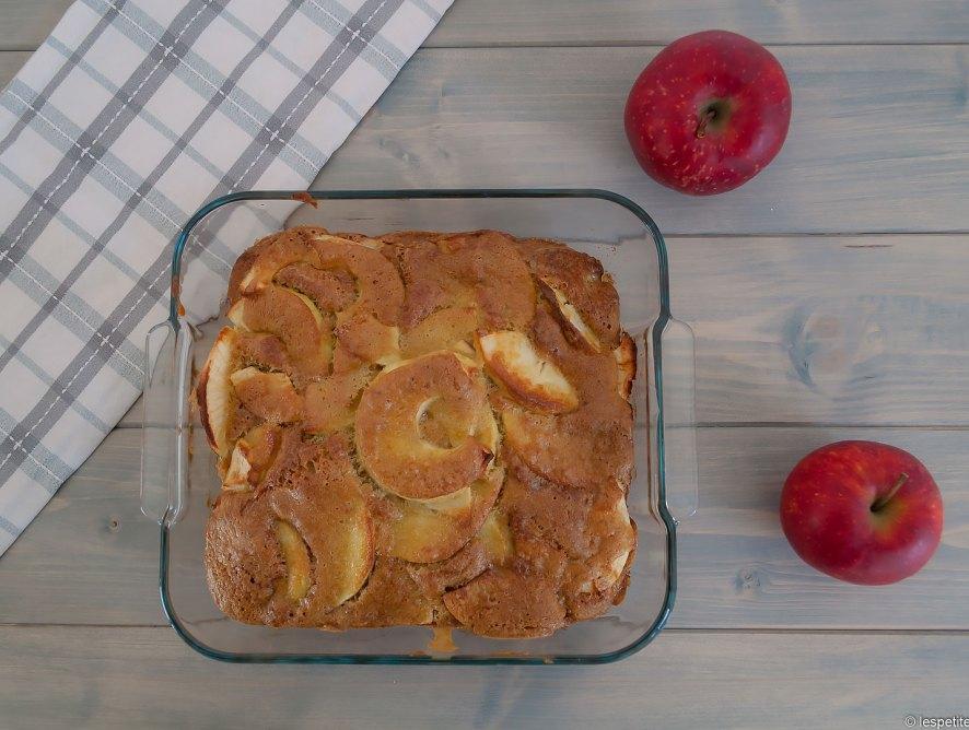 Gâteau rustique aux pommes
