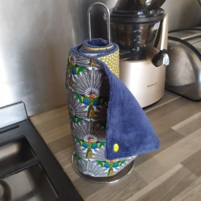 Essuie-tout lavable avec pressions
