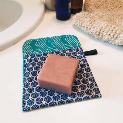 Pochette à savon imperméable