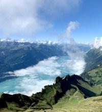 Vue sur le lac de Brienz
