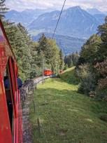 Le train à crémaillère le plus raide du monde!