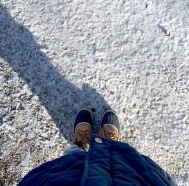 Attention, c'est gelé!