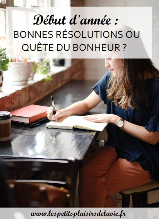 prendre bonnes résolutions
