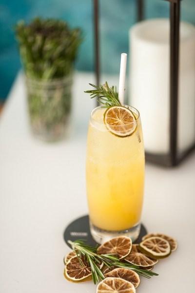 eaux aromatisées - citron romarin
