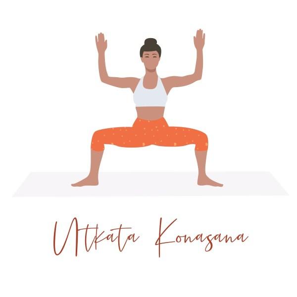 postures de yoga pour renforcer le périner