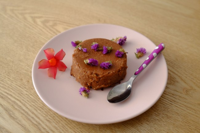 flan de semoule au chocolat sans sucre sans gluten (1)