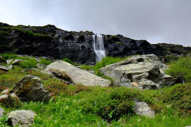 grande traversée des alpes étape refuge de plan sec refuge de l'arpont