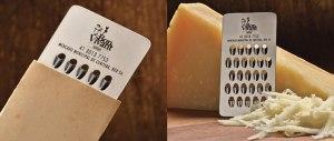 carte de visite servant de râpe à fromage par Bon Vivant, Brésil