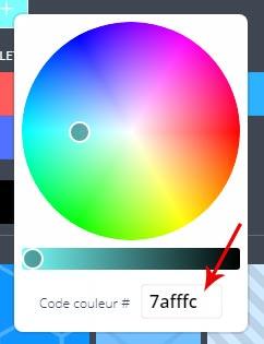 code html couleur