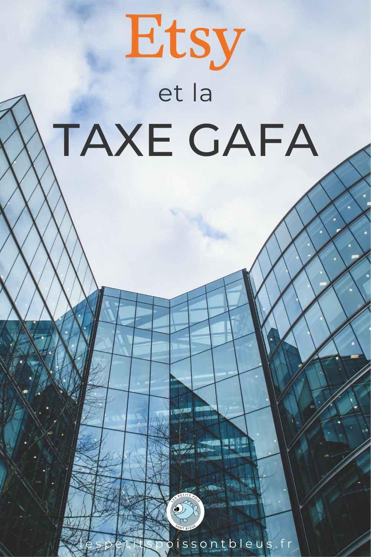 Etsy et la taxe GAFA