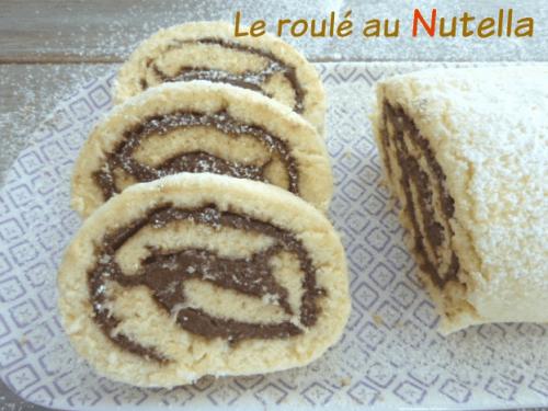 recette du roulé au nutella