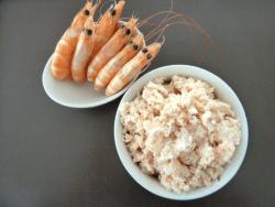mousse de crevettes