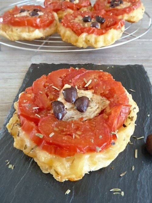 recette tarte tatin tomate chèvre