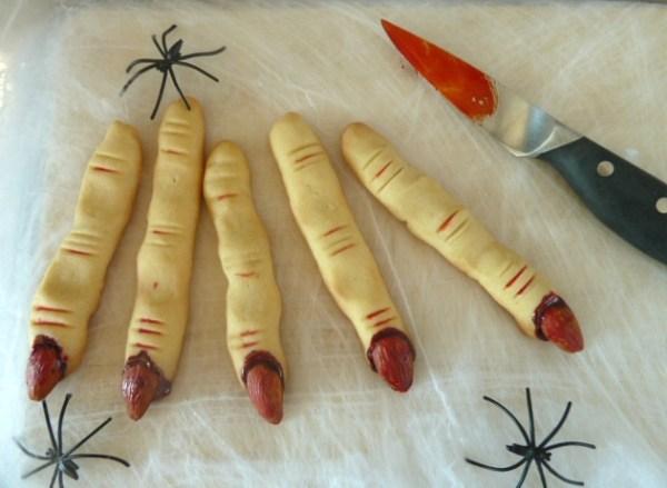 doigts de sorcière halloween
