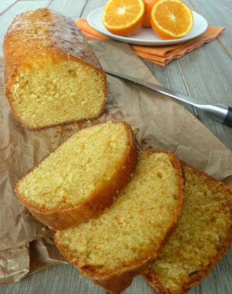 cake orange moelleux
