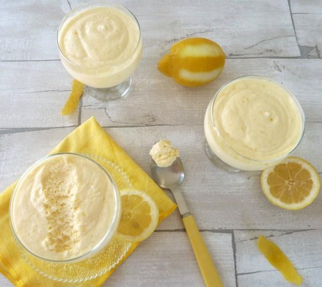 mousse lemon curd