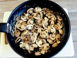 cuisson des champignons