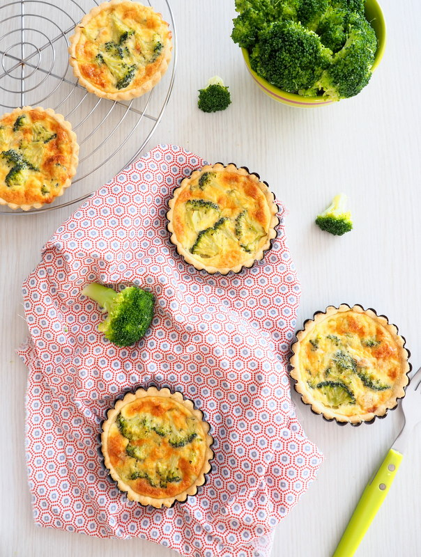 tartelette au thon et brocoli